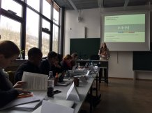 Raphaela Henze, Heilbronn University, presented her recently published research on the impacts of globalization on arts management and arts management education.
